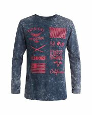 NEW DC Shoes™ Mens Paranoid Long Sleve T Shirt DCSHOES  Tee MORE COLOURS AVAIL