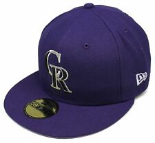 MLB® New Era® Colorado Rockies Purple 59Fifty™ City Flag Fitted Hat Cap Size