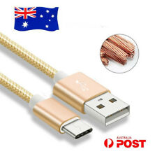 Braided USB-C USB 3.1 Type-C Data Charge Cable For Macbook Nokia N1 Microsoft LG