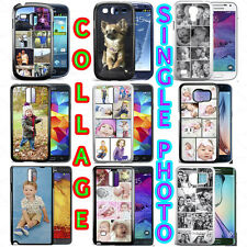PERSONALISED CUSTOM PHOTO COLLAGE PHONE CASE FOR GALAXY S6, S6 EDGE S5 S7 EDGE