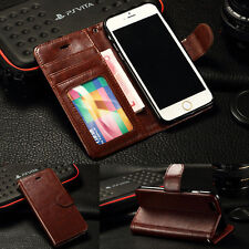 Luxury Magnetic Flip Leather Wallet Card Case Cover for iPhone 7 7 Plus 6S Plus