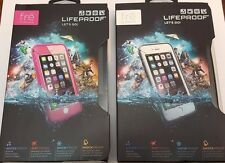 Lifeproof FRE Waterproof Case for iPhone 6, NEW, Pink or White/Gray