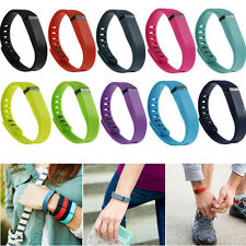 Small Large Wireless Replacement Band + Clasp for Fitbit Flex Wristband Bracelet