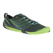 Merrell Vapour Glove Trail Mens Blue Running Trainers Sneakers Sports Shoes