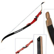 """NEW Takedown Recurve Bow 68"""",32lbs Archery Arrows Right Hand Hunting Screw Limbs"""