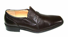 mens shoes size6.5.LA MILANO.BROWN.LEATHER.HEELS.