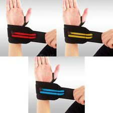 1Pc Weight Lifting Fitness Gym Sports Elastic Wrist Wrap Bandage Support Strap