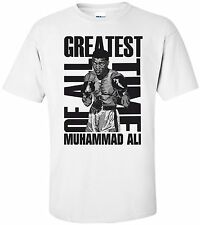 Muhammad Ali T Shirt Boxer Greatest Of All Time Boxing T Shirts Cassius Clay RIP
