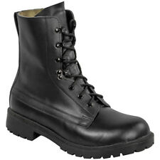 Highlander Ranger Assault Boots Tactical Leather Combat Mens Army Footwear Black