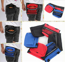 Pet Dog Food Waist Bag Containers Portable Pup Dog Pack Reward Food Training Bag