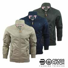 Crosshatch Mens Designer Harrington Bomber  Harrinz 2 Summer Jackets BNWT