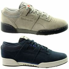 Reebok Workout Lo Suede 'LG' & 'Re'~Mens Trainers~RRP £75~UK 4 to 14~SALE PRICE