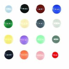 Fisheye Buttons - Size 18, 22, 26 or 30. 11mm, 14mm, 16mm or 19mm