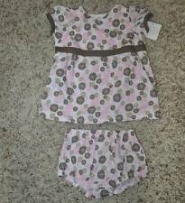NWT-Girls First Moments Pink Summer Floral Dress & Bloomers- 0/3 mths & 6/9 mths