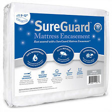 Hypoallergenic Matress Cover Box Spring Bed Bug Protector Waterproof Dust Mite
