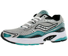 Saucony Grid Fusion 3 Athletic Womens Running Shoes Silver/black/green Size