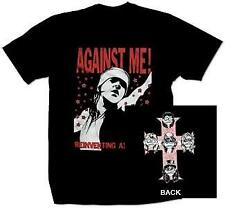 "New Music Record Against Me! ""Reinventing Axl Rose"" T Shirt"