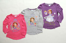 PRINCESS SOFIA THE FIRST LONG SLEEVE SHIRT PULLOVER GIRL SIZE 98 104 116