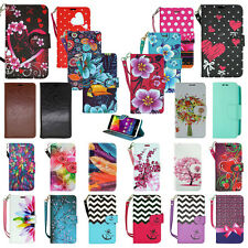 NEW !! for HTC Phone - Credit Card PU Leather Wallet Pouch Slim Stand Case Cover