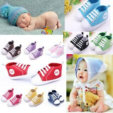 0-12Months New Infant Baby Toddler Sneakers Boy Girl Soft Sole Crib Shoes
