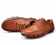 Stylish Men's lace up Moccasin Driving leather dress casual Loafers Shoes New