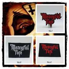 Mercyful Fate Sew Iron On Patch Embroidered Rock Band Heavy Metal Music Applique