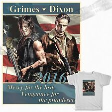 Daryl Dixon *Rick Grimes * for president * the Walking Dead * T Shirt