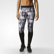 Adidas Womens Techfit Long Running Sports Gym Fitted Tights Bottoms Pants