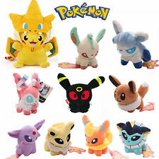 "New 5"" Pokemon Sylveon Eevee Umbreon Soft Plush Doll Stuffed Animal Toy Figures"