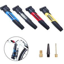 Bicycle Bike Cycle Compact Pump Presta Schrader Valves Tyre Tire Inflator uf
