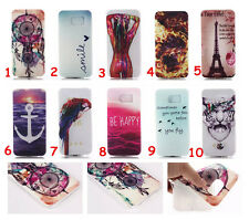 Fashion Rubber Cover Skin For iPhone Samsung LG HTC Sony Soft TPU Gel Back Case