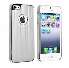 Luxury Metal Aluminum Brushed Hard Back Cover Case Skin For iPhone 5 5S SE