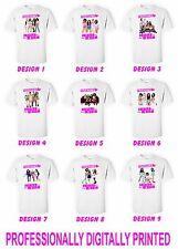 Little Mix Girls Personalised Kids T Shirt  Unisex With Name Kids Tee Childs Top