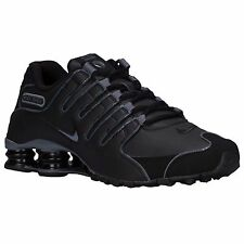 NIKE SHOX NZ 2016 BLACK MENS RUNNING ATHLETIC SHOES **FREE POST WORLDWIDE