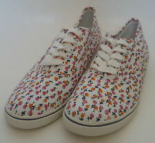Womens AEROPOSTALE Ditsy Print Canvas Sneakers NWT #6303