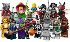 LEGO MINIFIGURE 71010 The Monsters Series 14 Complete Set of 16 or Singles