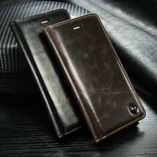 Leather Wallet Card Holder Flip Stand Case Cover For iPhone 6/ 6S/ Plus Samsung
