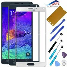 Replacement Front Outer Screen Glass Lens Tools Kit For Samsung Galaxy Note 4