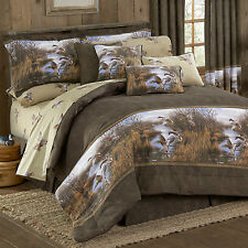 Duck Approach Comforter Sets and Bed in a Bag with Sheet Rustic Bedding
