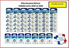 Piles/battery boutons lithium CR2032/2025/2016 Camelion , Free Shipping !!
