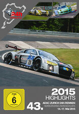 43. ADAC Zurich 24h-Rennen Highlight-DVD/Blu-ray 2015