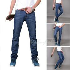 Fashion Designed Mens Slim Fit Jeans Trousers Skinny Straight Casual Jean Pants