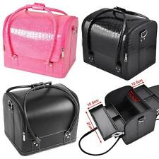 Beauty Make up Case Cosmetic Box Vanity Case Nail Tech Storage Bag Large Space