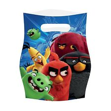 Angry Birds Movie   Red   Chuck   Green Pigs Party   Favour   Loot Bags 1-48pk