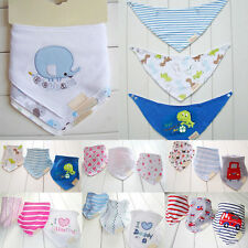 Lovely 3PcsBaby  Kids Triangle Head Scarf Bandana Bibs Saliva Towel Dribble