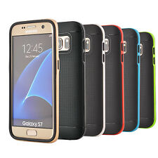 Soft Silicone Gel Case Cover for Samsung Galaxy S7 G930 + Screen Protector