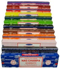 Satya Nag Champa Incense Sticks - Lots of Scents Available - Buy 3 Get 1 Free