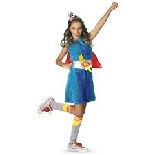 Grover Sesame Street Teen Junior Preteen Tween Girl Super Hero Halloween Costume