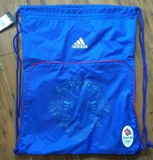 BNWT Adidas Team GB Football Gym Bag Blue Swimming Bag London Olympics 2012