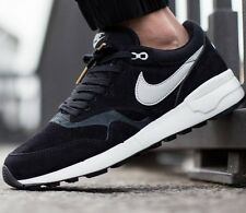 Nike Air Odyssey LTR New Black Mens Leather Trainers UK 7.5; 9; 11.5;12